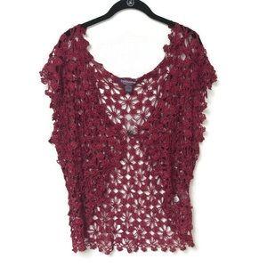 taillissime la redoute creation crochet vest 1X